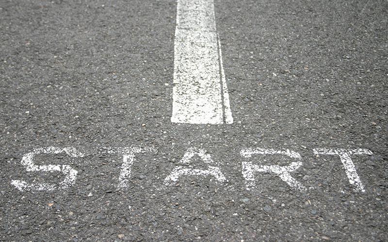 O mais importante é começar